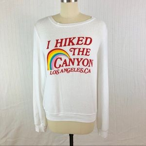 "Wildfox Tops - NWOT WILDFOX ""I Hiked the Canyon"" Sweatshirt"